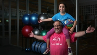 University of Newcastle health program for dads and daughters expands to UK